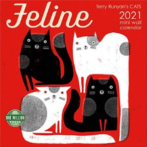 Terry Runyan Mini Cat Calendar