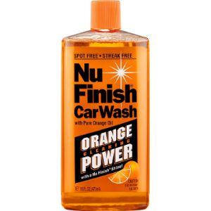 Nu Finish Dish Soap Safe Car Wash
