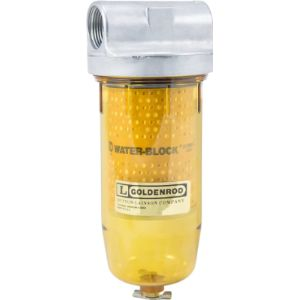 Goldenrod Petcock Fuel Pipe Filter