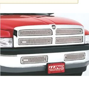 Lund Stainless Screen Front Custom Grille Insert