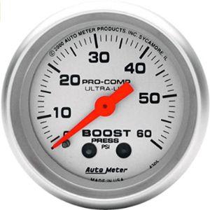 Auto Meter Diesel Kit Boost Gauge