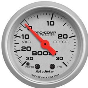 Auto Meter Supercharger Boost Gauge