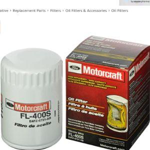 Motorcraft Special Oil Filter