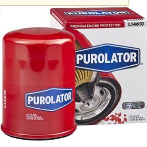 Purolator Oil Filter Bypass Valve