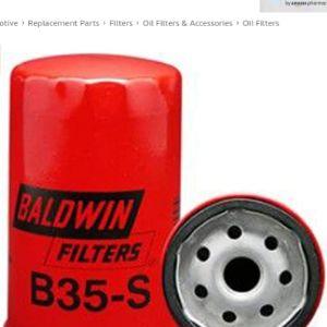 Baldwin Oil Filter Location