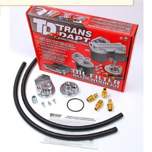 Trans-Dapt Performance Oil Filter Relocation Adapter
