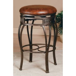 Hillsdale Stool Leather Seat