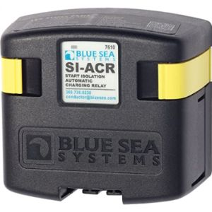 Blue Sea Systems Solenoid Switch Relay Battery Isolators