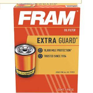 Fram Size Chart Oil Filter
