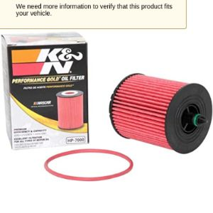 Kn Gmc Terrain Oil Filter