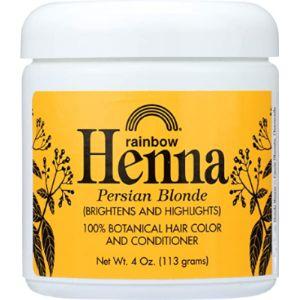 Rainbow Research Yellow Henna Powder