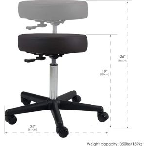 Earthlite Replacement Seats Swivel Bar Stool