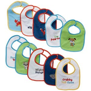 Neat Solutions Picture Baby Bib