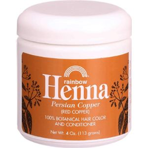 Rainbow Research Dye Reaction Henna Hair