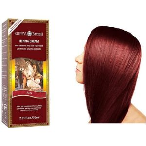 Surya Brasil Burgundy Henna Hair Cream