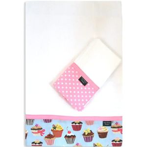 Lucky Ducky Designs Burp Cloth With Ribbons