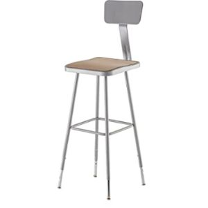 Visit The National Public Seating Store Adjustable Height Lab Stool