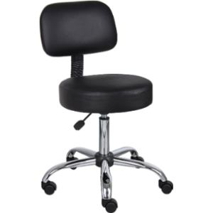 Boss Office Products Medical Stool With Backs