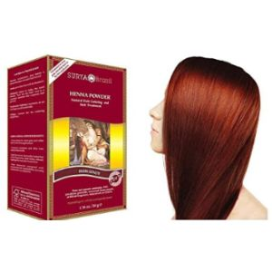 Surya Brasil Products Burgundy Henna Powder