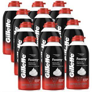 Gillette Foamy Shaving Foam Regular