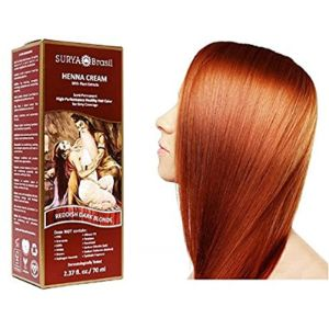 Surya Dye Copper Henna Hair