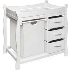 Badger Basket Removable Top Changing Table