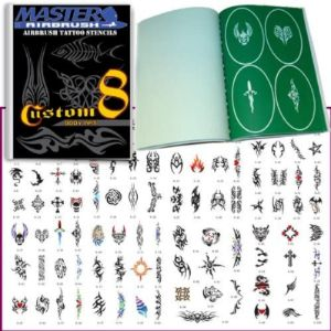 Visit The Master Airbrush Store Airbrush Tattoo Stencil Book