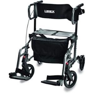 Graham-Field Rolling Walker Transport Chair