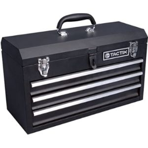Tactix 3 Drawer Steel Tool Box