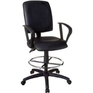 Boss Office Products Swivel Drafting Stool