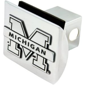 Football Fanatics Chrome Trailer Hitch Cover