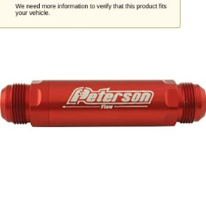 Peterson Fluid Systems Screen Oil Filter