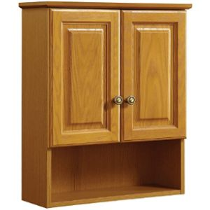 Design House Oak Towel Cabinet