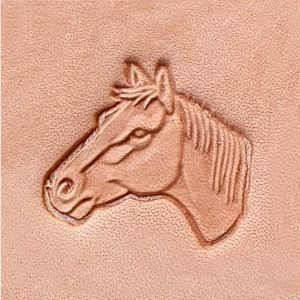 Tandy Leather Horse Leather Stamp