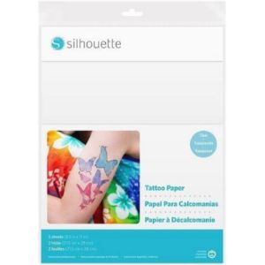 Silhouette America Tattoo Gift Card Template