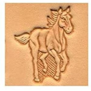Tandy Leather Product Running Horse Stamp