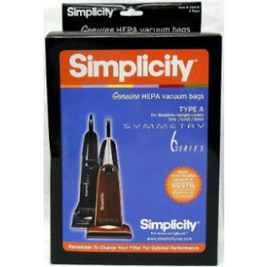 Simplicity Hepa Vacuum With Bags