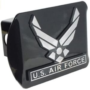 Elektroplate Air Force Trailer Hitch Cover