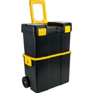 Stalwart St Yellow Plastic Tool Box
