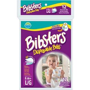 Bibsters Disposable Baby Bib