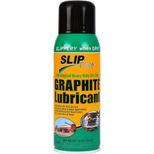 Slip Plate Spray Graphite Lock Lubricant
