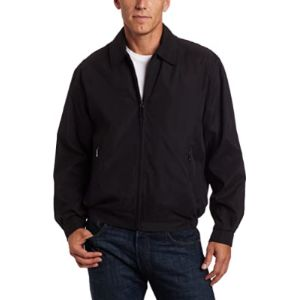 London Fog Bomber Jacket Mens Style