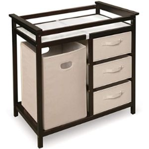 Visit The Badger Basket Store Removable Top Changing Table