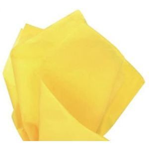 Premium Quality Gift Tissue Paper Yellow