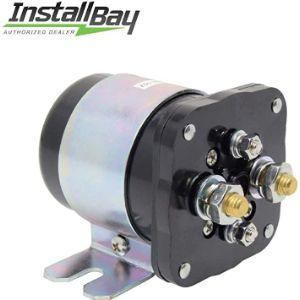 Install Bay Solenoid Battery Isolator Relay
