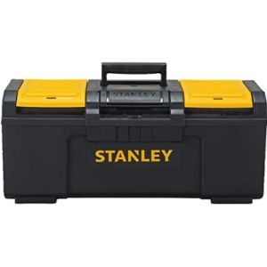 Stanley St Yellow Plastic Tool Box