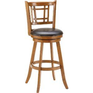 Hillsdale Furniture Wood Swivel Stool