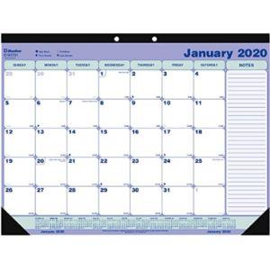 Blueline Coloring Desk Pad Calendar