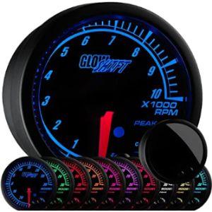 Glowshift Rpm Tachometer Gauge