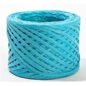 Factory Direct Craft Turquoise Raffia Ribbon